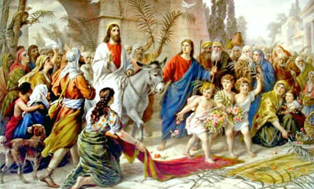 Palm Sunday, Triumphant entry