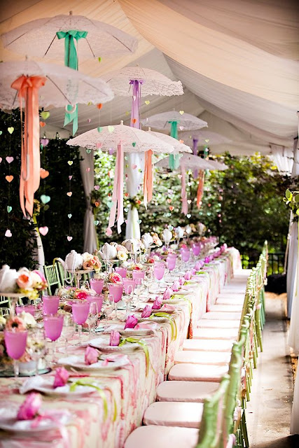 Sensational Springtime Wedding Theming