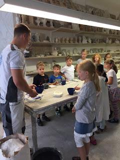 Kindergeburtstag bei Stuck-Belz in der Stuckwerkstatt