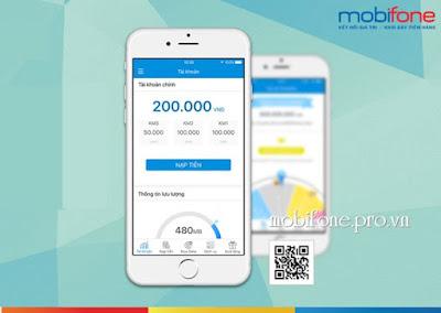 Nạp tiền nhanh với ứng dụng Mobifone Next từ Mobifone