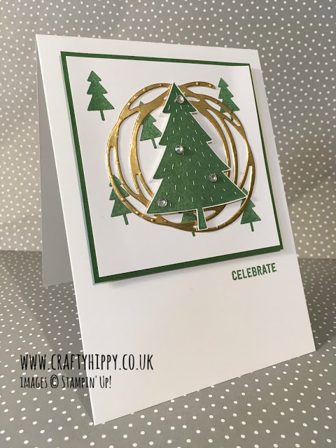 Learn how to make this fab Christmas Card using the Foxy Friends stamp set by Stampin' Up!