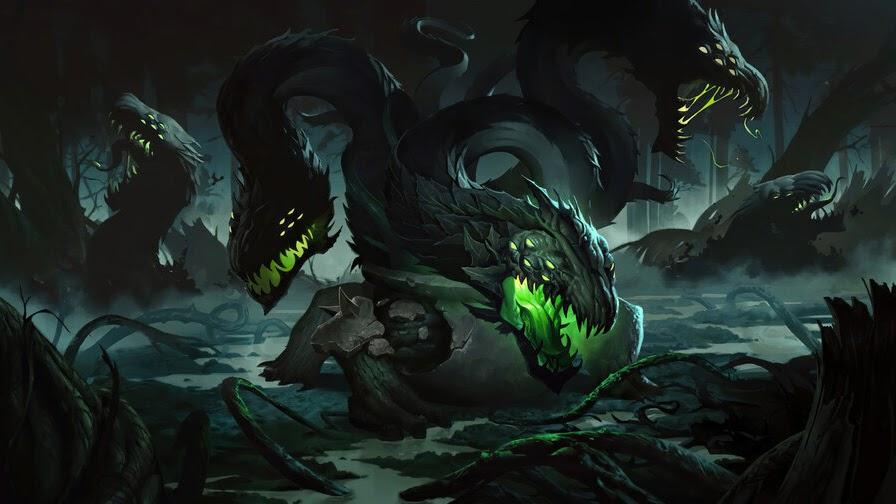 Overgrown Snapvine, Legends of Runeterra, 4K, #3.1800