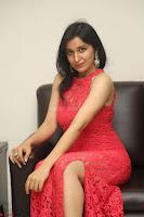Sakshi Kakkar in Red Legsplit Sleeveless Gown at Dare movie Press meet ~  Exclusive 036.JPG
