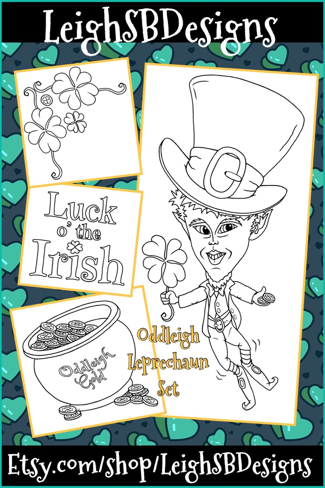 New March Release:  Oddleigh Leprechaun set!