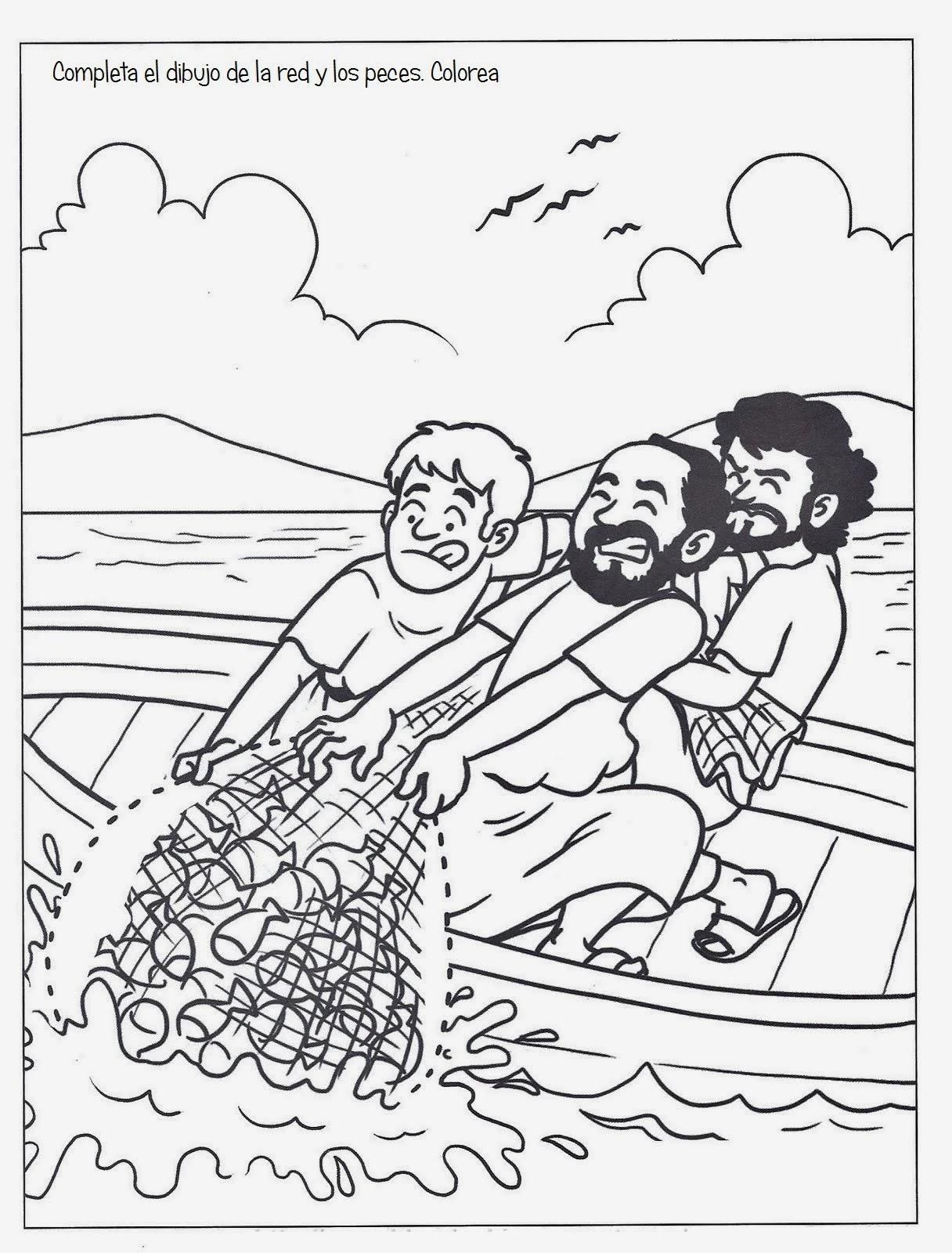 De Rios Para Colorear Dibujos Biblicos