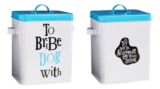 The Bright Side To Bribe Dog With Treat Tin