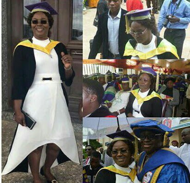 Fayose's Wife Bags Masters Degree From Ekiti State University