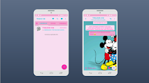BAIXAR TEMAS GBWHATSAPP - MICKEY AND MINNIE