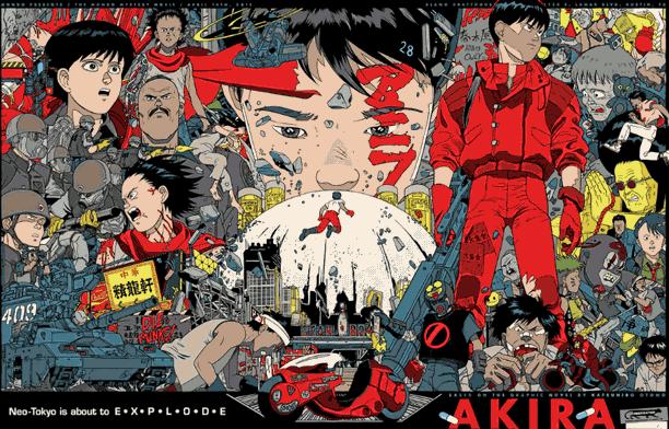 Akira - Daftar Anime Gore Terbaik