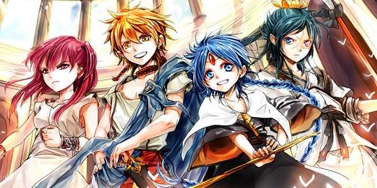 Suivez toute l'actu de Magi - The Labyrinth of Magic sur Japan Touch, le meilleur site d'actualité manga, anime, jeux vidéo et cinéma