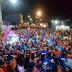 Multidão sai as ruas para aclamar o nome de Mozaniel para prefeito de Guamaré