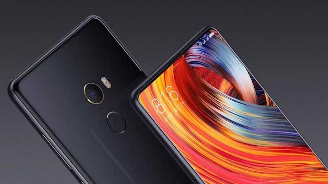 Xiaomi Mi MIX 2 dengan Bezel Tipis Berlapis Emas