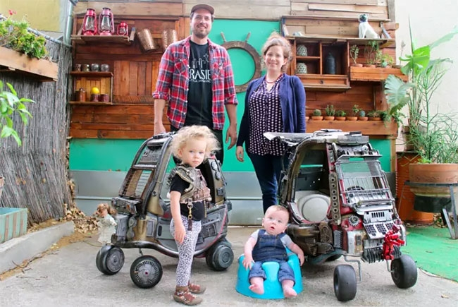 15-Ian-Pfaff-Little-Tikes-Cozy-Coupe-Infused-with-Mad-Max-www-designstack-co