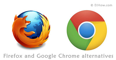 Freeware firefox and google chrome alternatives for better security and privacy.