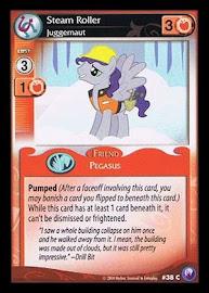 My Little Pony Steam Roller, Juggernaut Canterlot Nights CCG Card