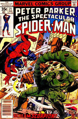 Spectacular Spider-Man #21, the Scorpion