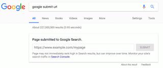 gambar 3 Google Sudah Berhenti Mendukung Pengiriman URL Publik ke Indeks Pencariannya
