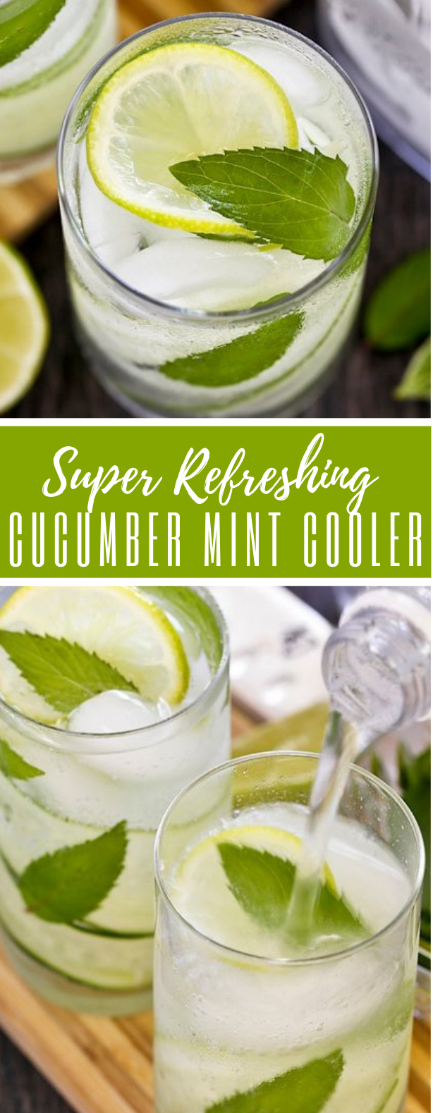 CUCUMBER MINT COOLER #drink #soda