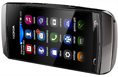 Nokia Asha 306 Harga Spesifikasi, Ponsel Kembaran Asha 305