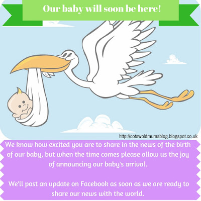 Facebook Baby Announcement