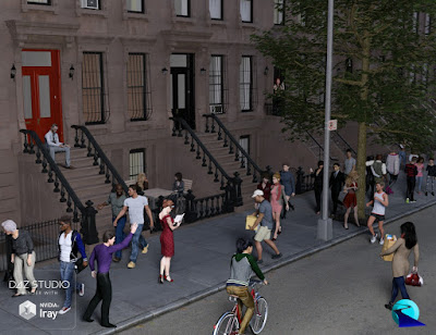 Now-Crowd Billboards - Modern City Life