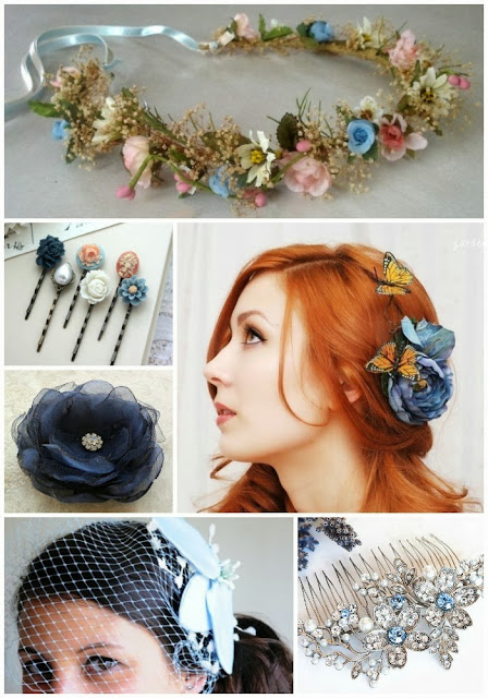 Something Blue ... For Your Hair!