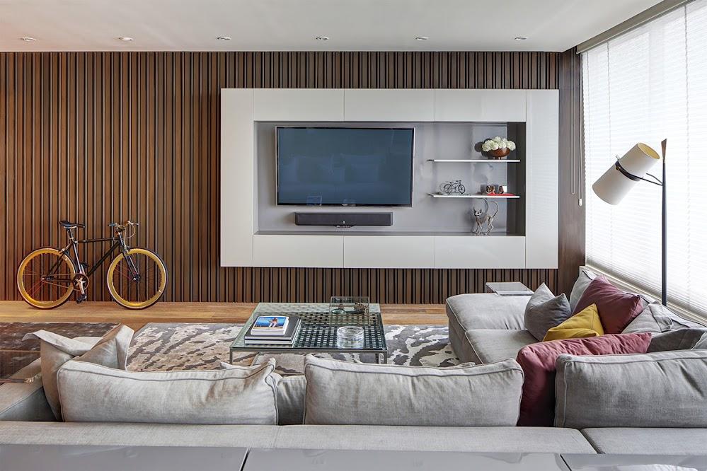 orange-pinstripe-living-room
