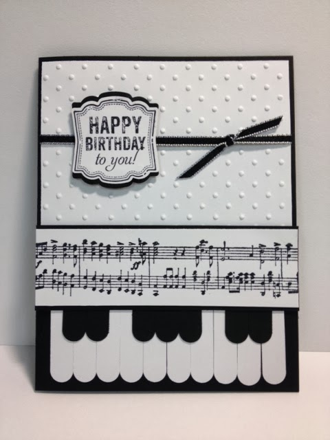 My Creative Corner!: Labeled Love Piano Keys Card