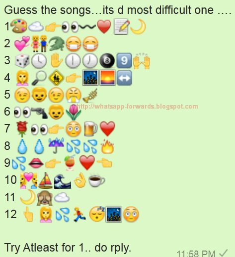 Guess the Songs its d most difficult one