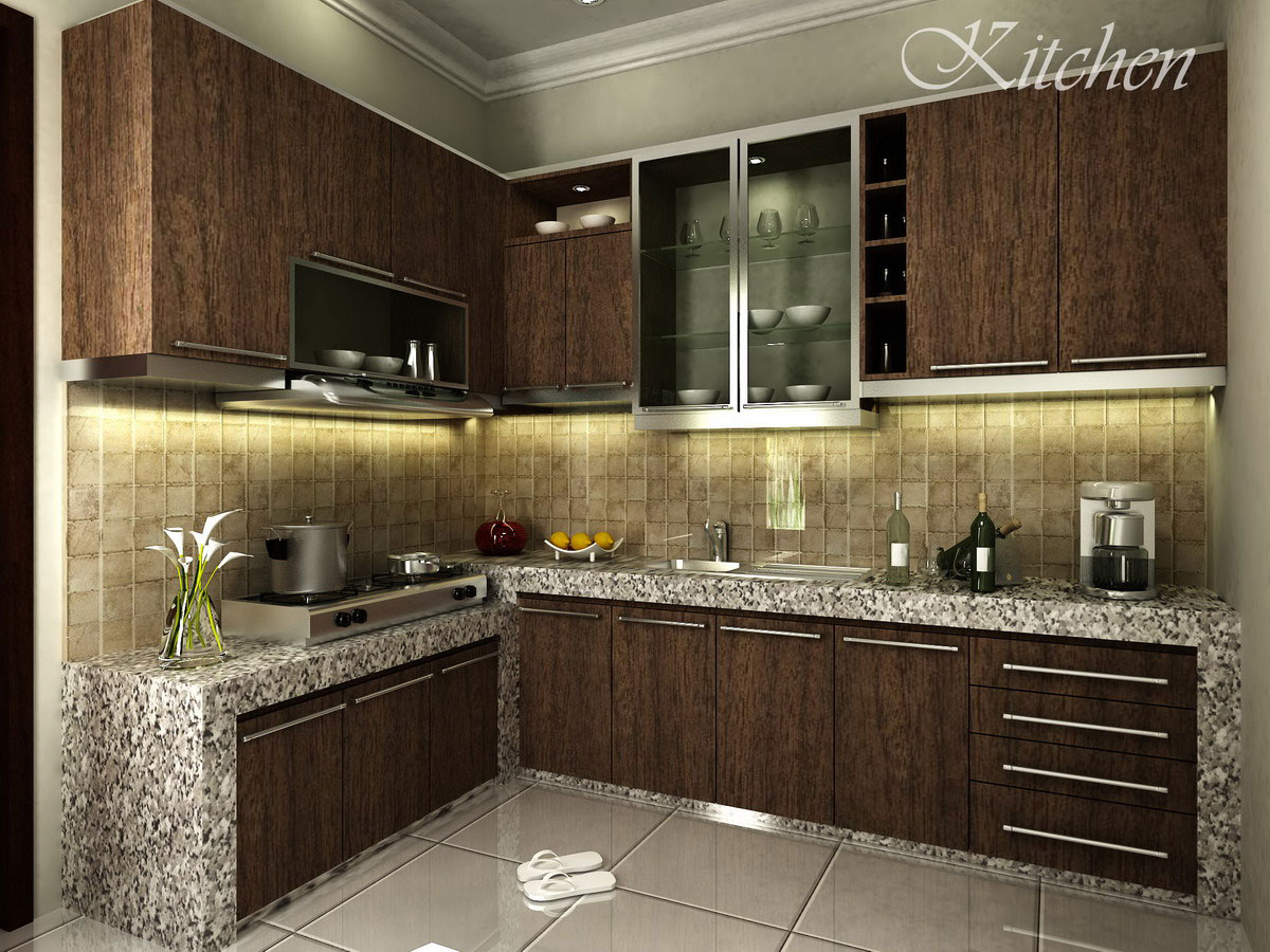 Gambar Dapur Kecil Minimalis 6 Tips Reka Bentuk Dapur Kecil Simple Small Kitchen Design