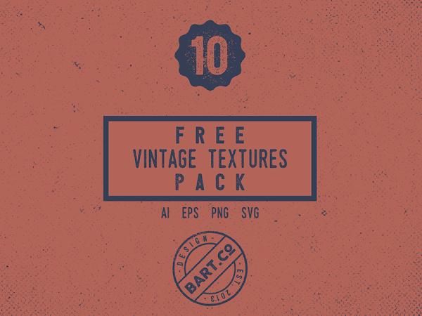 Download 10 Vintage Textures Pack Free