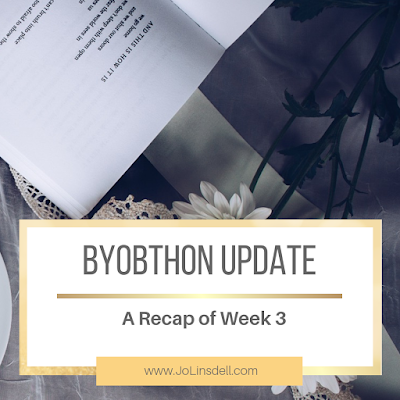 BYOBthon Update: A Recap of Week 3