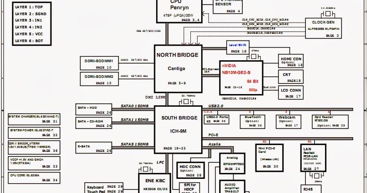 My Schematic: Compaq Presario CQ61, Quanta OP6/7 Free
