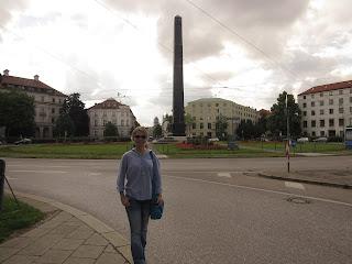Karolinenplatz O que ver em Munique Alemanha