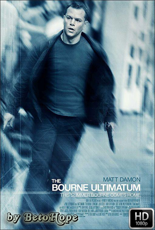 El Ultimatum De Bourne [2007] [Latino-Ingles]  HD 1080P [Google Drive] GloboTV