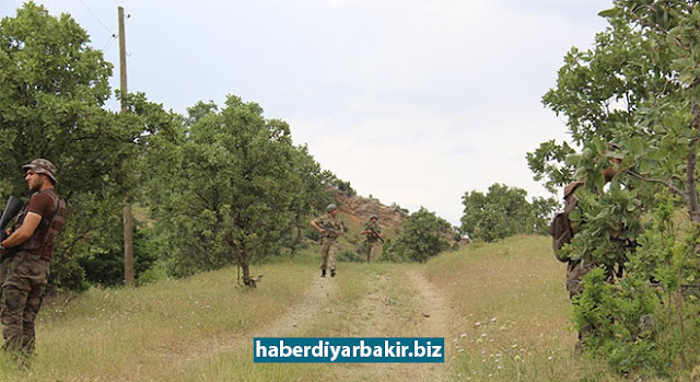 DIYARBAKIR-On May 28, 2017 in Diyarbakir, six suspects were apprehended in operations against PKK in rural areas. 2 tons of 290 kilo drugs and 6 thousand 632 root cannabis plants were seized during the operations.
