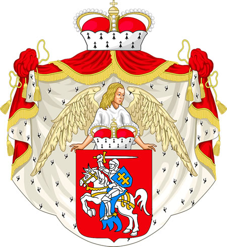 The Grand Duchy of Lithuania coat of arms