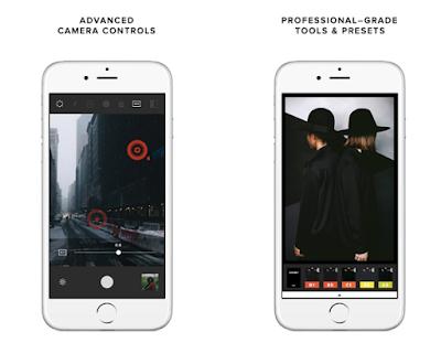 Aplikasi Kamera iPhone Terbaik - VSCO Cam