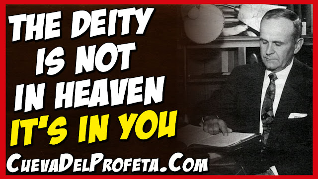 The Deity is not in Heaven it is in you - William Marrion Branham Quotes