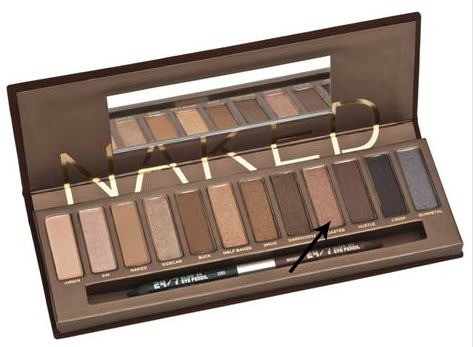 Urban Decay Naked Palette Toasted