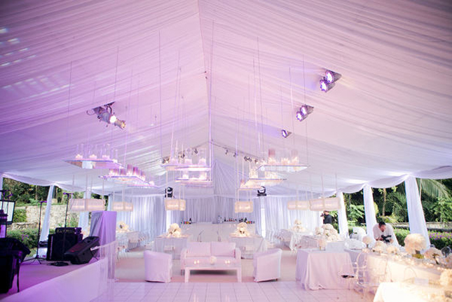 All White Wedding Decor Belle The Magazine