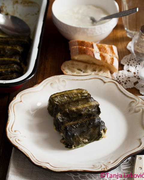 Sarmice od zelja / Stuffed dock leaves