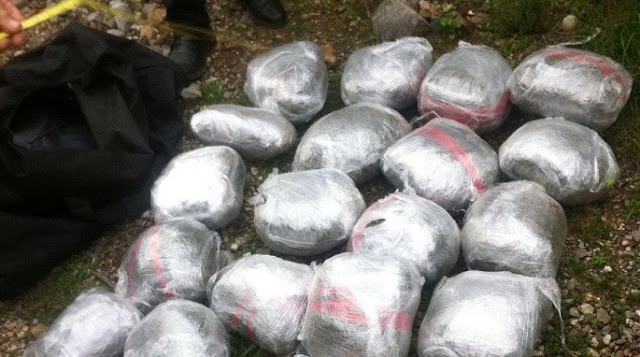 90 kg of cannabis is seized in Shkodra