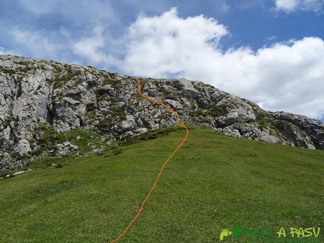 Ruta al Cantu Ceñal: Trepada al Cantu Ceñal
