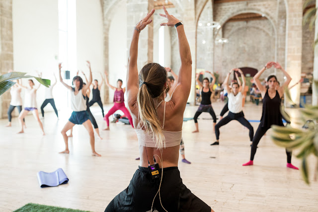 Festival Organic Barcelona - Yoga and Photo