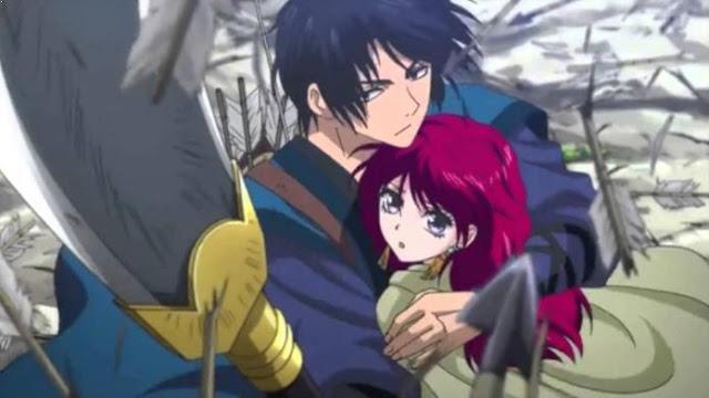 Daftar Rekomendasi Anime Fantasy Romance Terbaik - Akatsuki no Yona