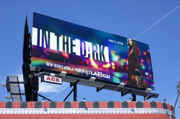 In The Dark series launch billboard