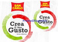 Logo Concorso San Carlo ''Crea il tuo gusto'' : vinci gratis 420 forniture e non solo