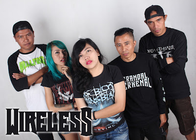 Wireless Band Metal/Hardcore Bandung - Indonesia with Female Vocal and drummer