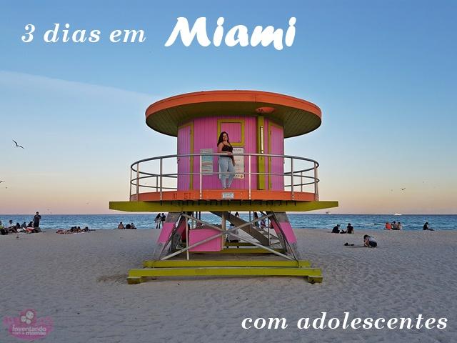 O que fazer em Miami com adolescentes